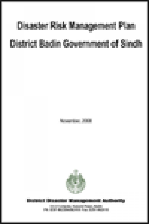 Badin DRM Plan 2008