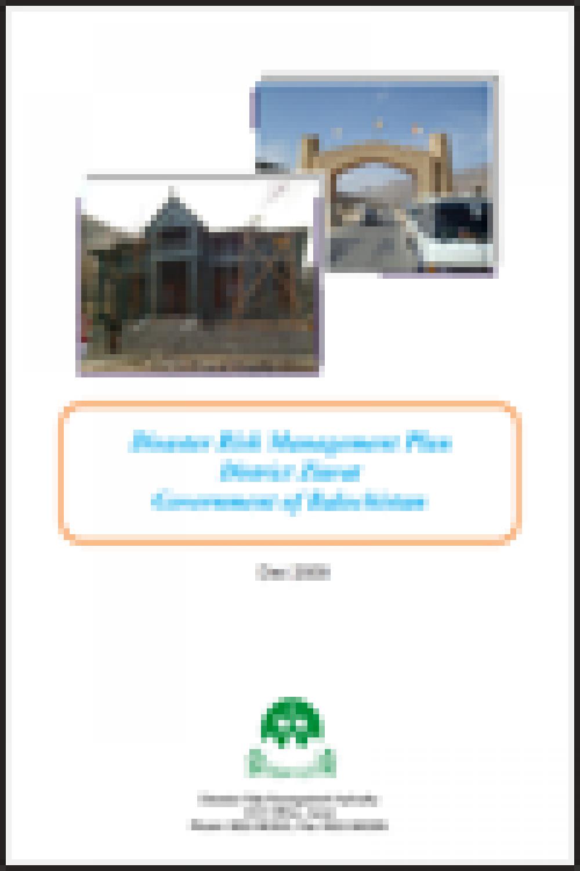 Ziarat DRM Plan 2009