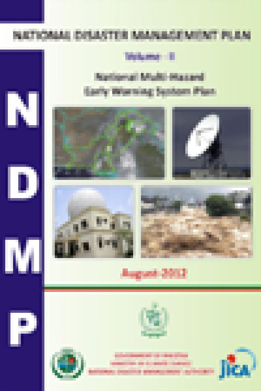 NDMP-National Multi-Hazards Early Warning System Plan