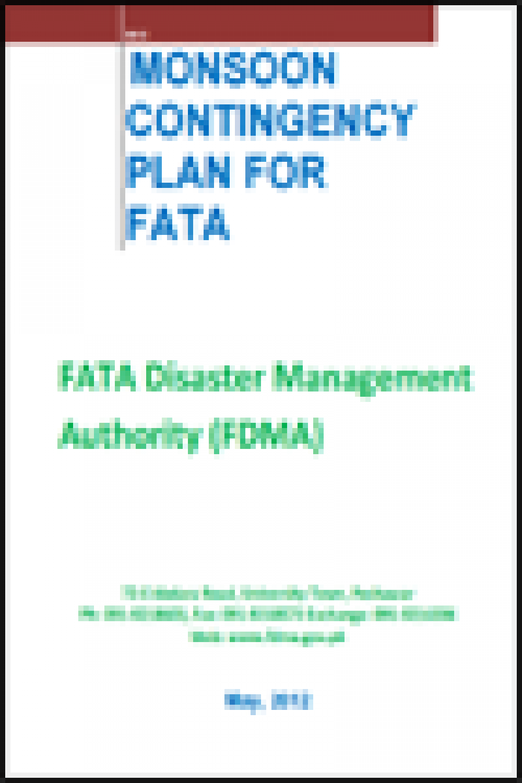 FATA Monsoon Contingency Plan 2012