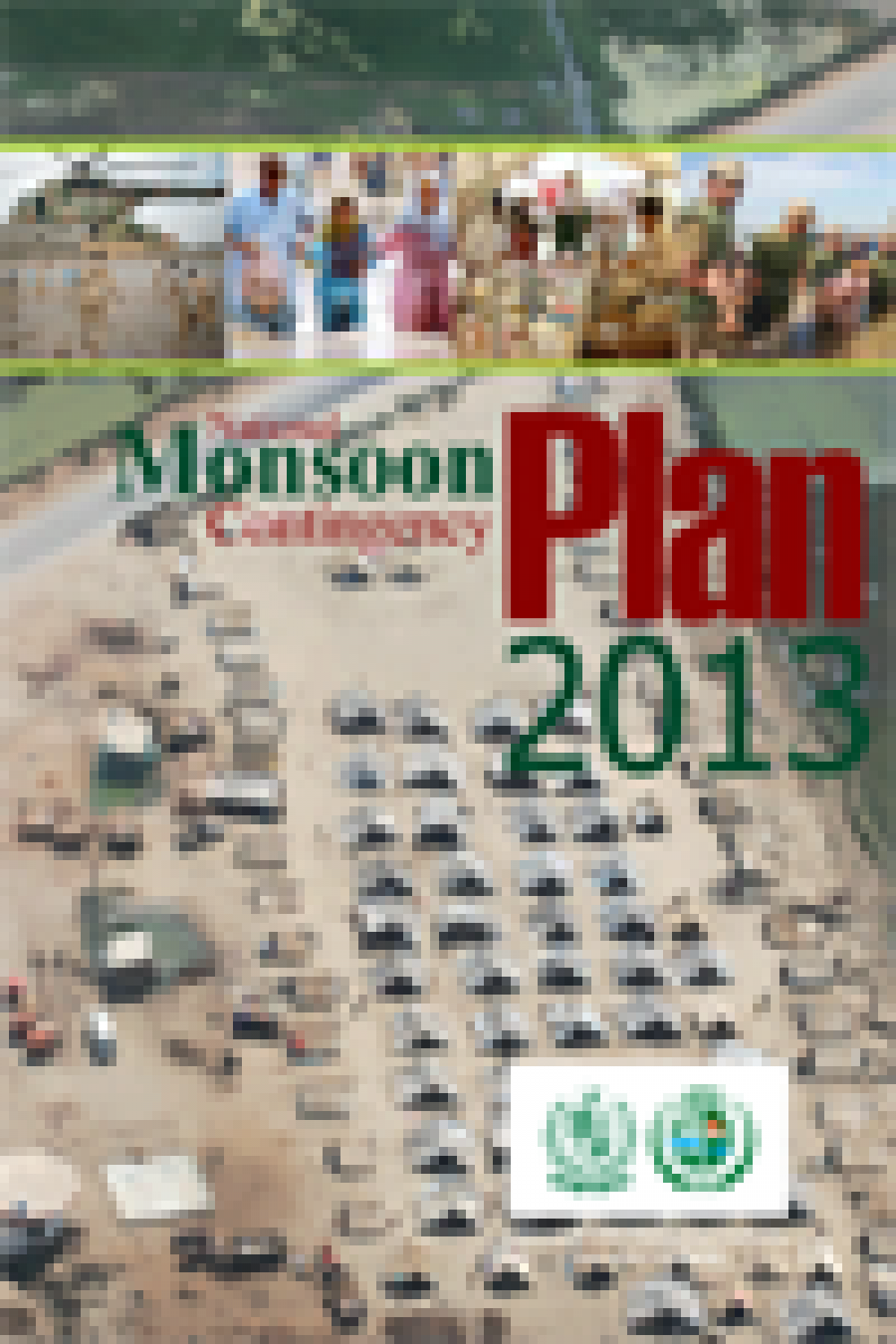 National Monsoon Contingency Plan 2013