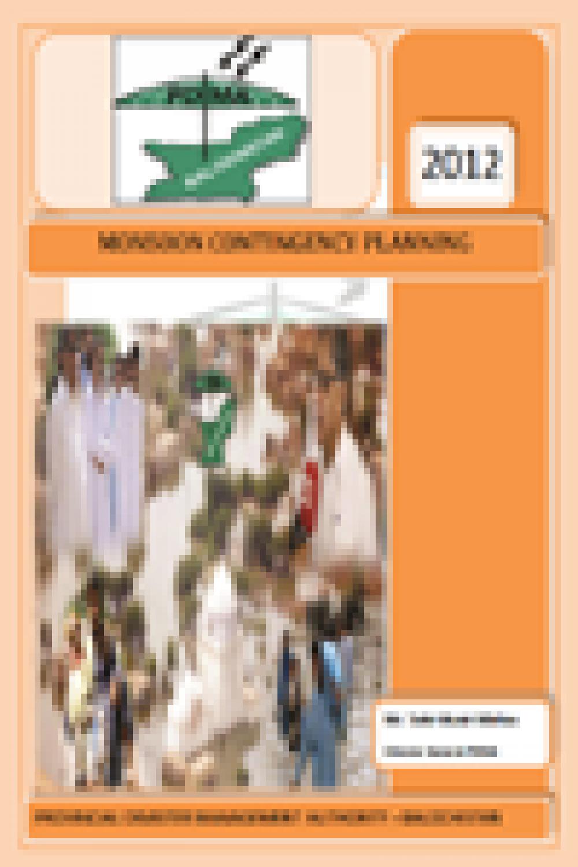 Balochistan Monsoon Contingency Plan 2012
