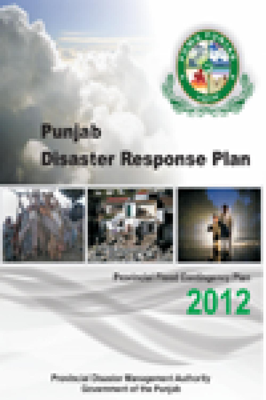 Punjab Disaster Response Plan 2012