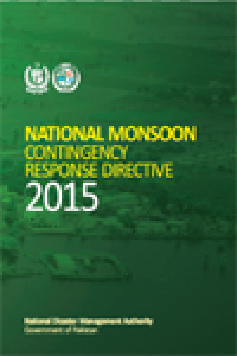 National Monsoon Contingency Response Directive 2015