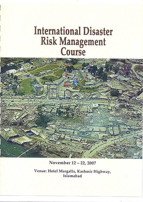 International Disaster Risk Management Course