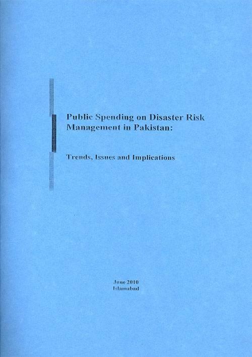 Public Spending on Disaster Risk Management in Pakistan