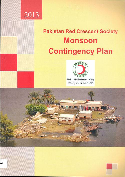 PRCS Monsoon Contingency plan 2013
