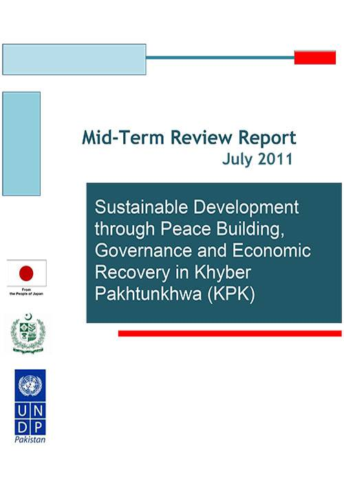 Sustainable Development through Peace Building, Governance and Economic Recovery in Khyber Pakhtunkhwa Project