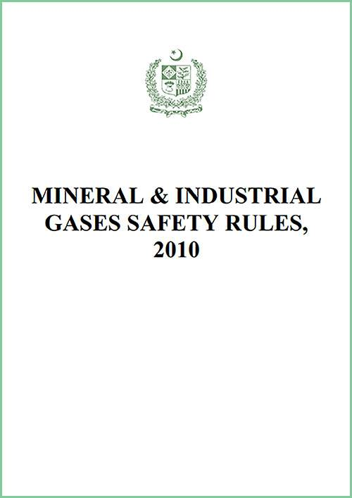 The Mineral & Industrial Gases Safety Rules
