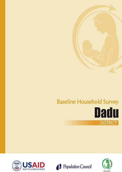 Baseline Household Survey Dadu