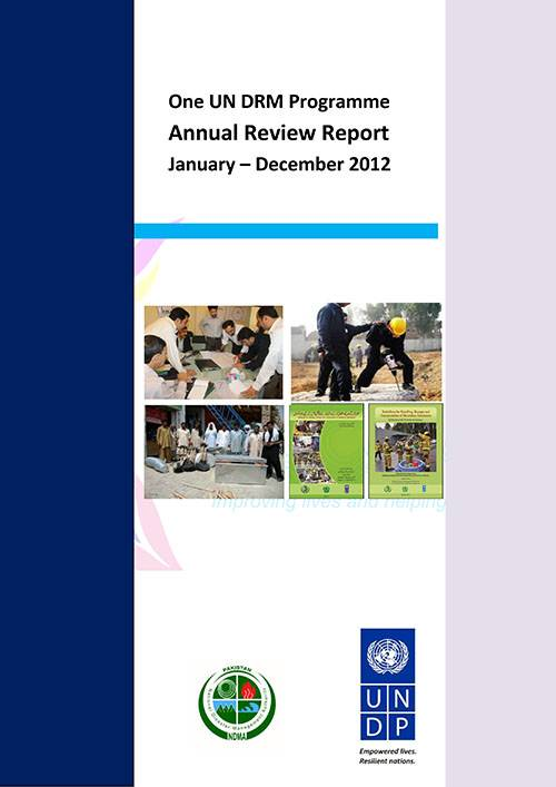 Annual Review Report-One UN DRM Programme 2012