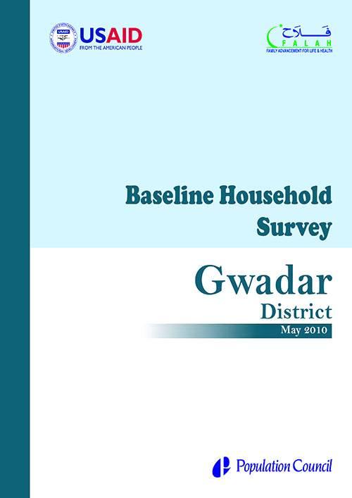Baseline Household Survey Gwadar 2010