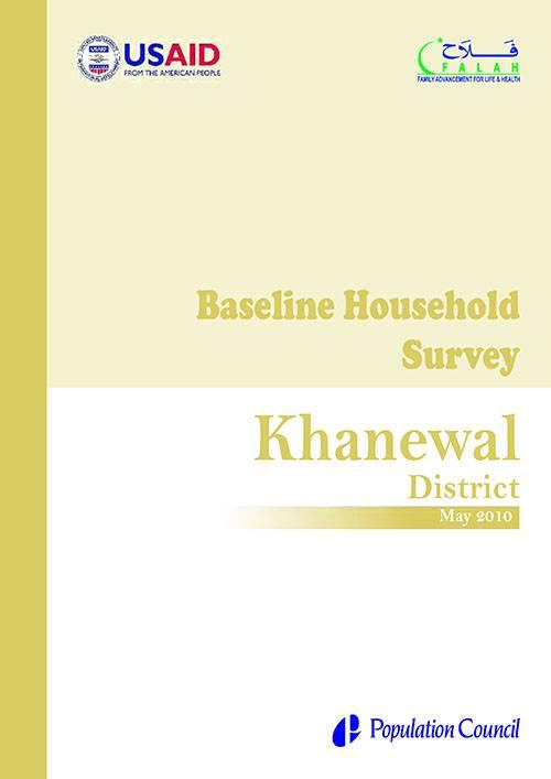 Baseline Household Survey Khanewal 2010