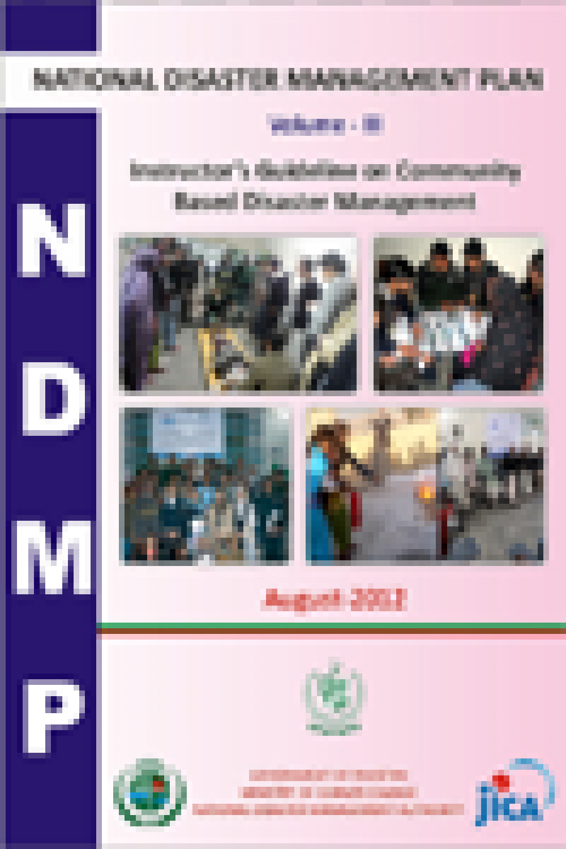NDMP-Instructor's Guidelines on Based Community Disaster Management