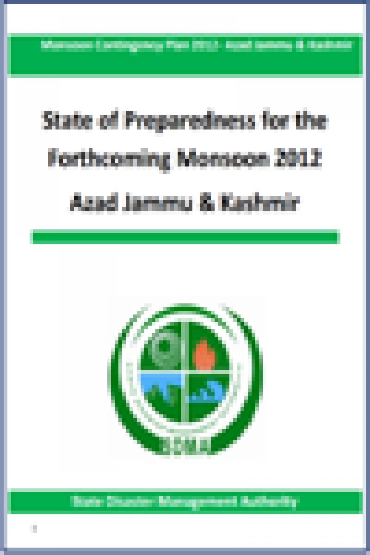 Azad Jammu & Kashmir Monsoon Contingency Plan 2012