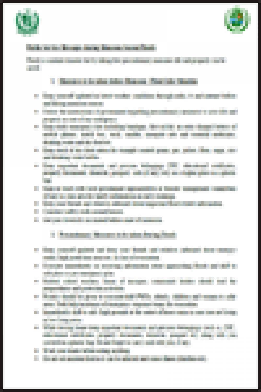 Cyclone Public service Message English