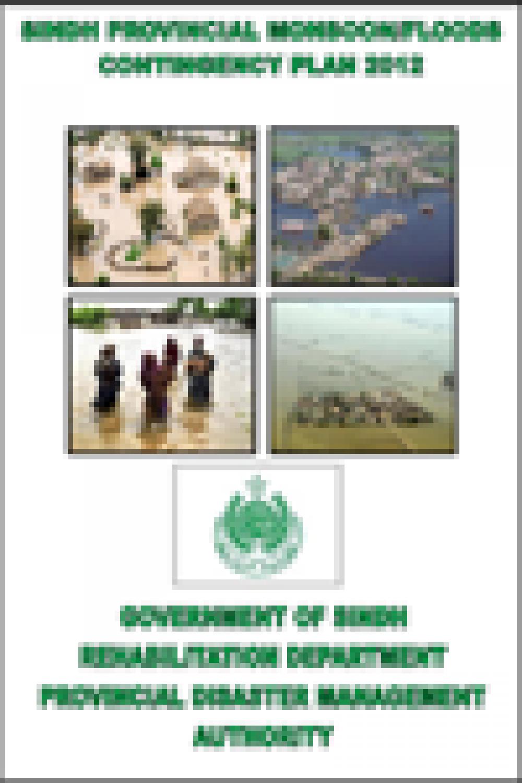 Sindh Monsoon Flood Contingency Plan 2012
