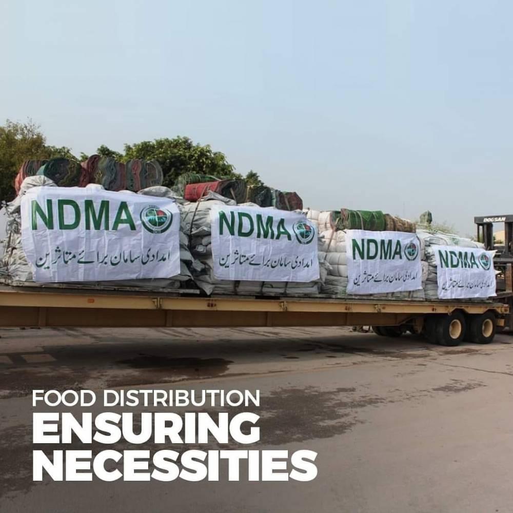 ڈبلیو ایف پی کے تعاون سے 440ٹن گندم سندھ بھیجنے کے انتظامات مکمل کر لیے گئے۔