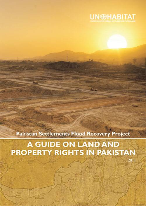 A Guide on Land and Property Rights in Pakistan 2011