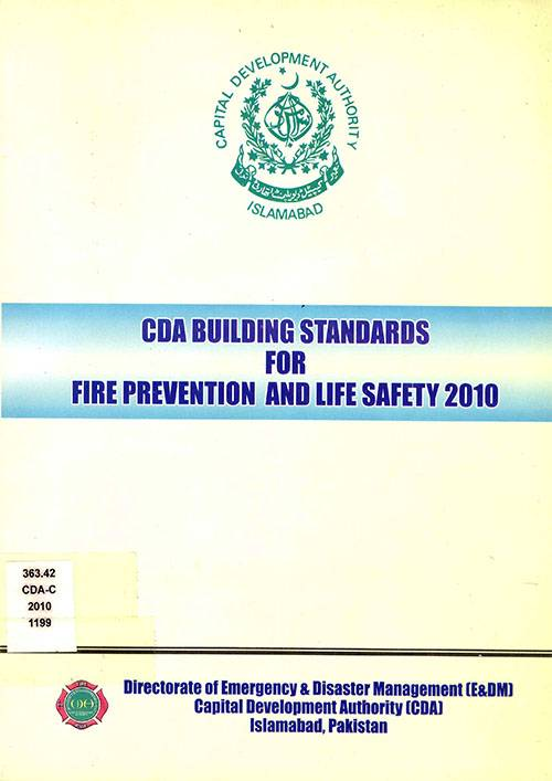 CDA Building Standards for Fire Prevention and Life Safety 2010