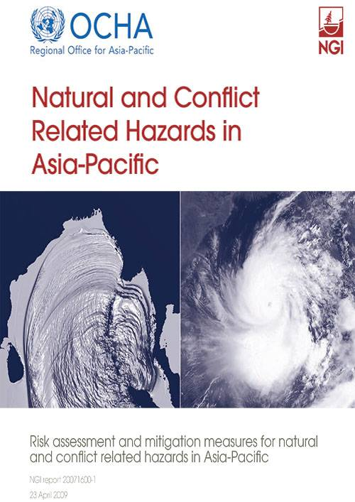 Natural Conflict Related Hazard in Asia Pacific