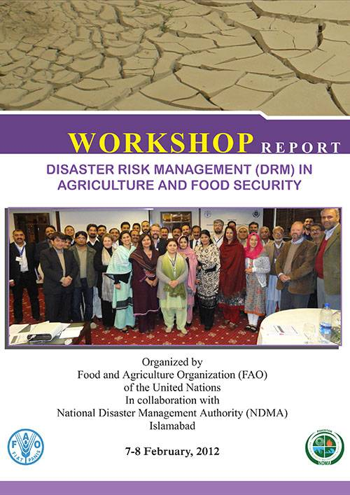Workshop Report DRM in Agriculture And Food Security