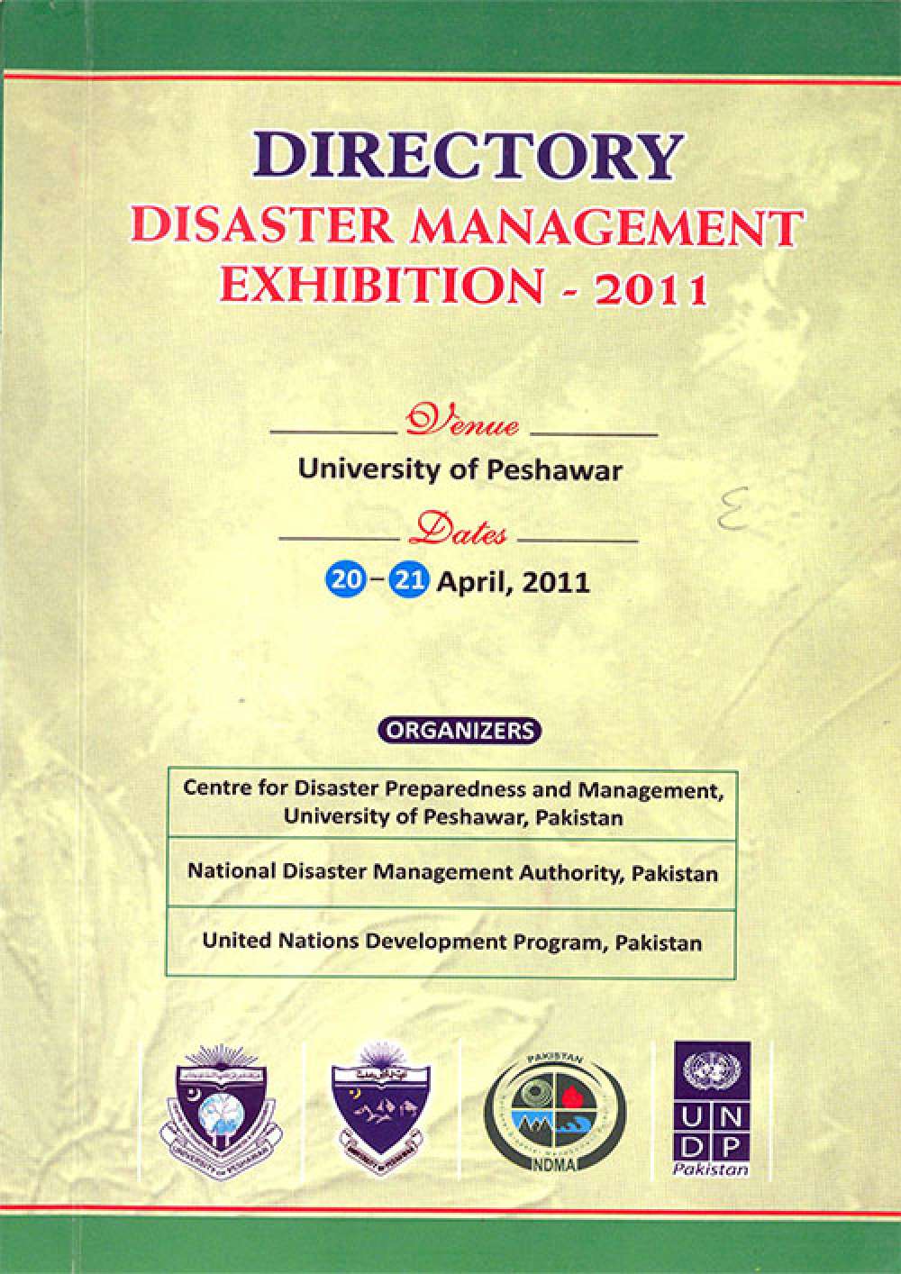 Directory Disaster Management Exhibition 2011