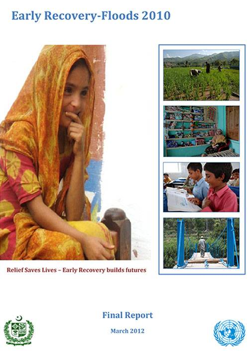 Pakistan Floods Disaster 2010 Early Recovery Report