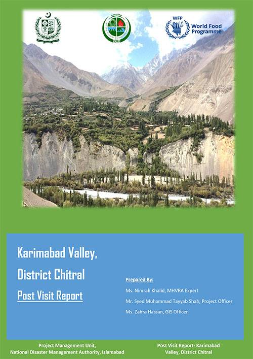 Karimabad Valley, District Chitral Post Visit Report